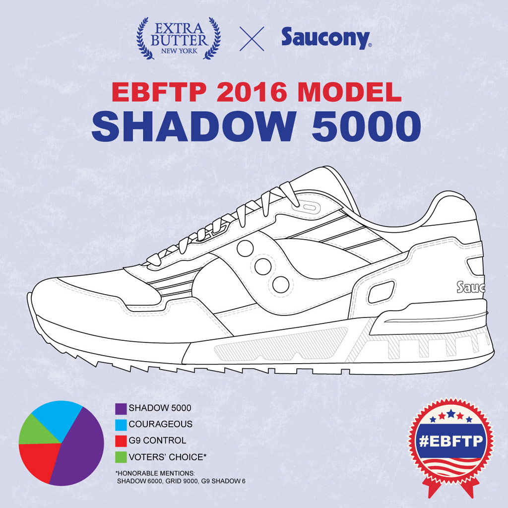 Saucony Extra Butter shadow 9000