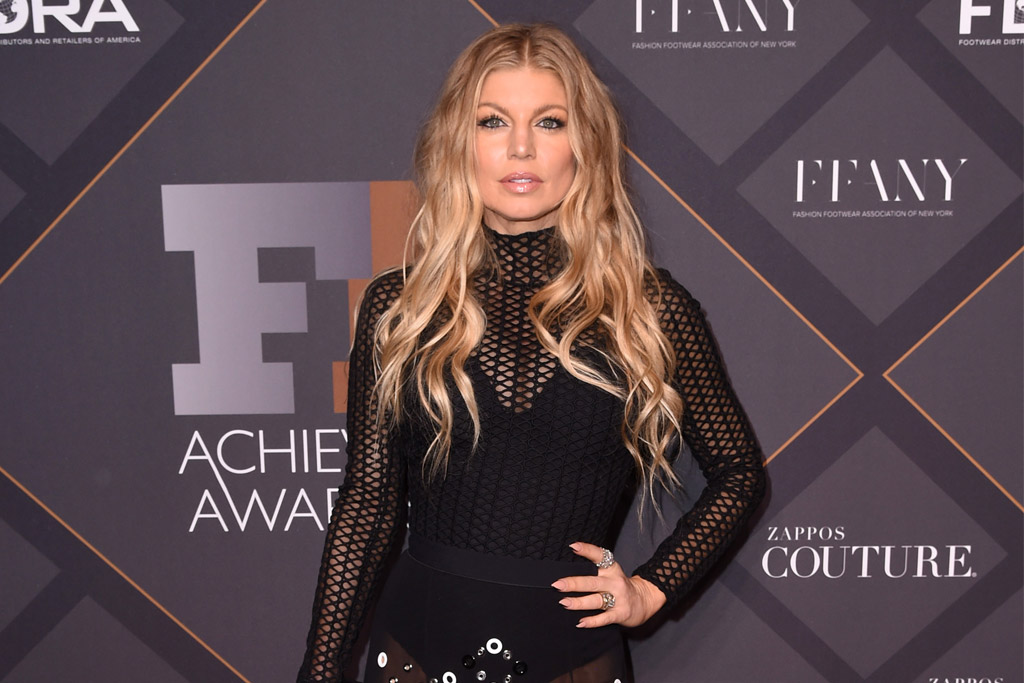Fergie at the FN Achievement Awards