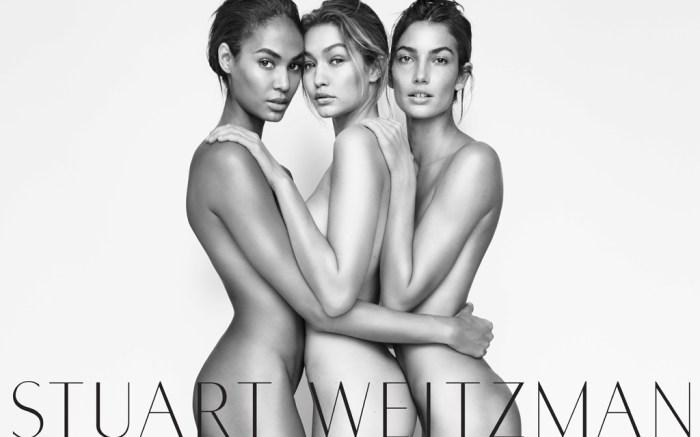 Stuart Weitzman Gigi Hadid Nearly Nude