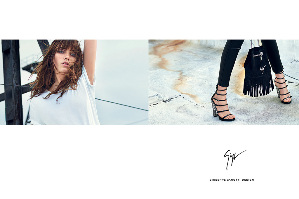 Giuseppe Zanotti Spring 2016 Ad