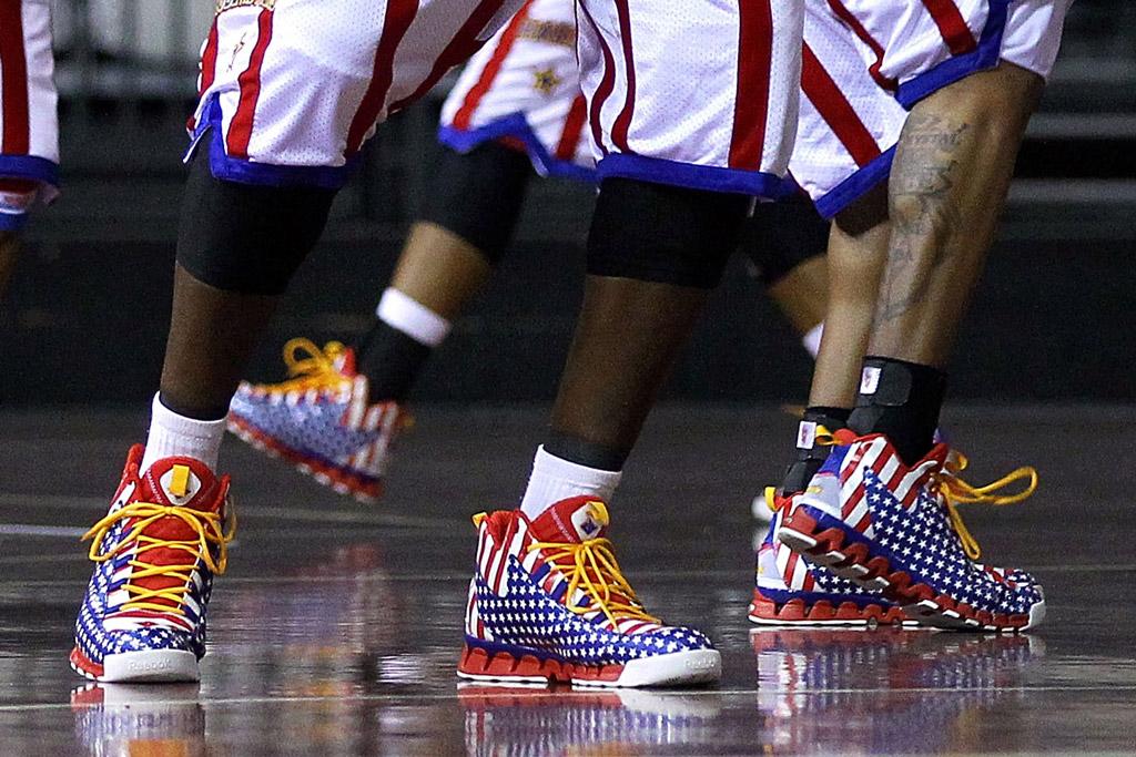 Harlem Globetrotters Sneaker Style