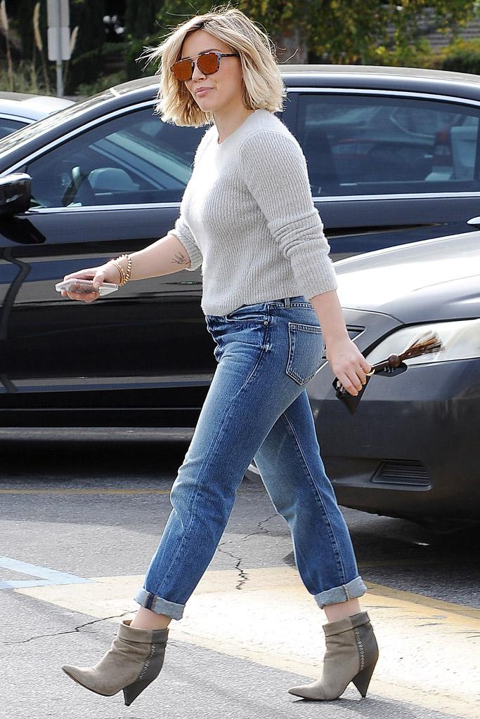 Hilary Duff Isabel Marant Shoes