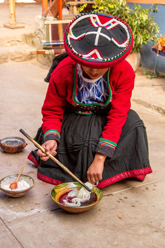 Inkka hand dyed yarns