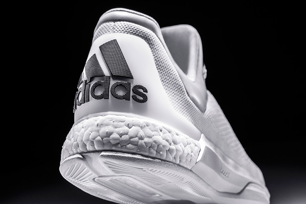James Harden Adidas Crazylight Boost Triple White