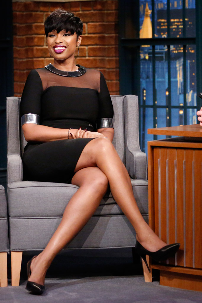 Jennifer Hudson Celebrity Statement Shoes Winter 2015-2016