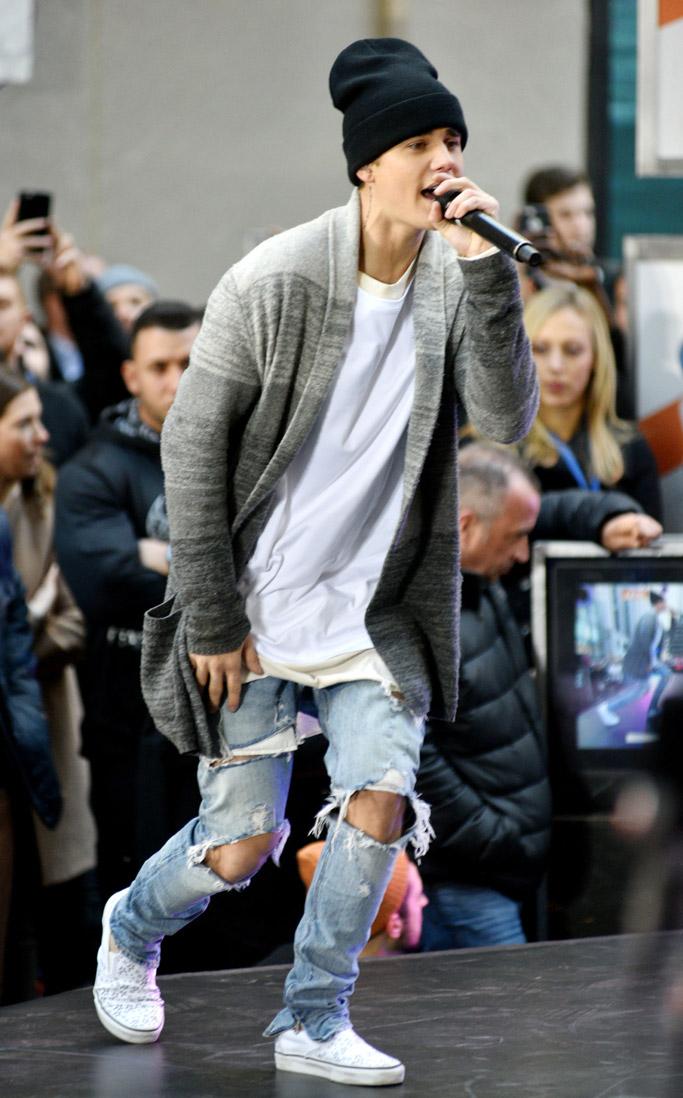 Justin Bieber Vans Sneakers