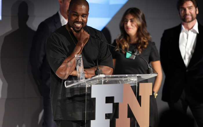 Kanye West FN Achievement Awards Shoe of the Year