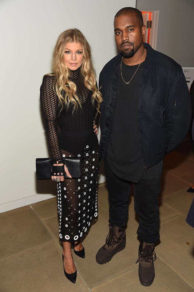 Kanye West FNAAs 2015 Red Carpet Arrivals