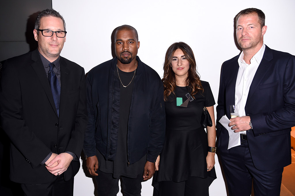 Kanye West FNAAs 2015 Red Carpet Arrivals