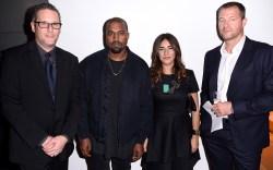 Kanye West FNAAs 2015 Red Carpet