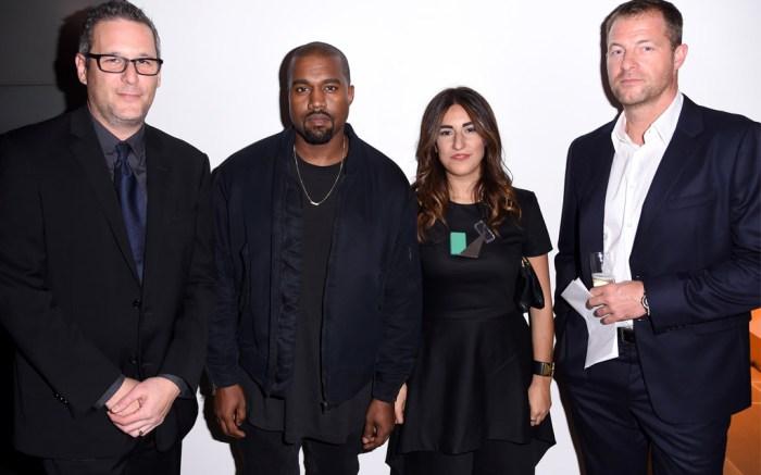 Jon Wexler, Kanye West, Rachel Muscat, and Arthur Hoeld