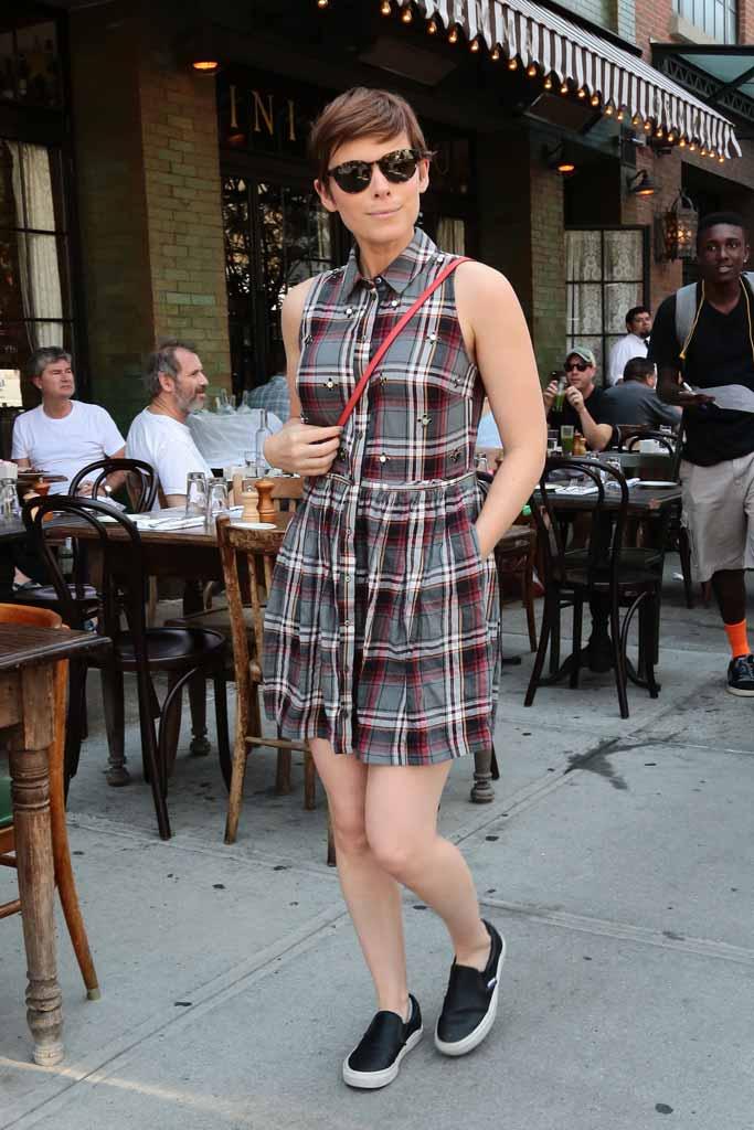 Kate Mara Vans Sneakers