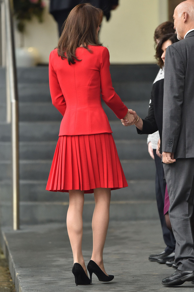 Kate Middleton attracted attention with her outfit.