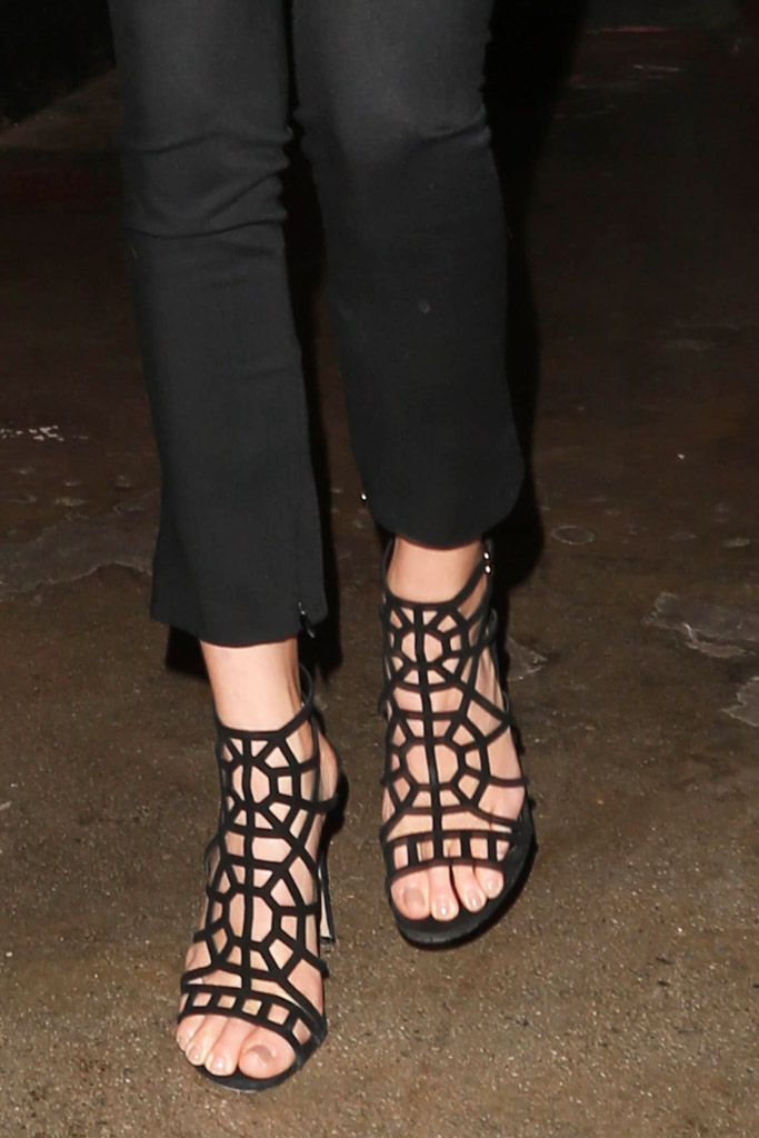 Kendall Jenner Celebrity Statement Shoes Winter 2016