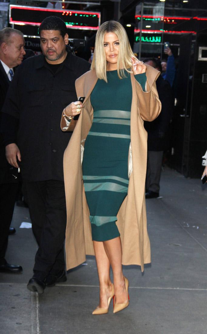 Khloe Kardashian Celebrity Statement Shoes Winter 2016
