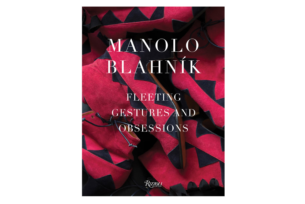 """""""Manolo Blahnik: Fleeting Gestures and Obsessions"""" Coffee Table Book, $83.95"""