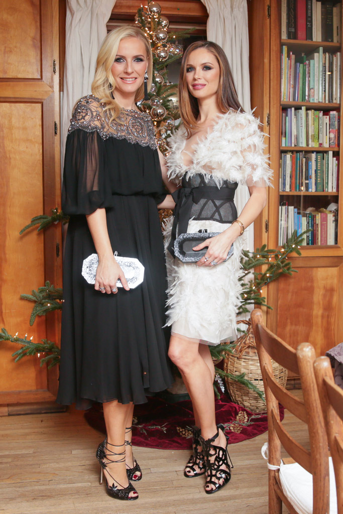 Marchesa designers Keren Craig and Georgina Chapman.