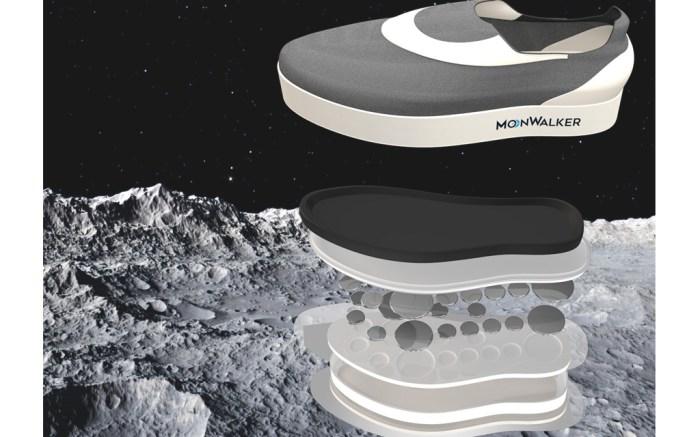 MoonWalker gravity-defying shoes