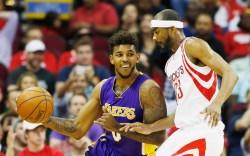 Nick Young LA Lakers Yeezy 750s