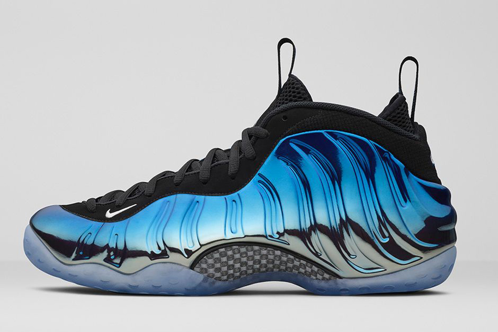 Buy Nike Men s Air Foamposite One PRM Black Aurora Green ...
