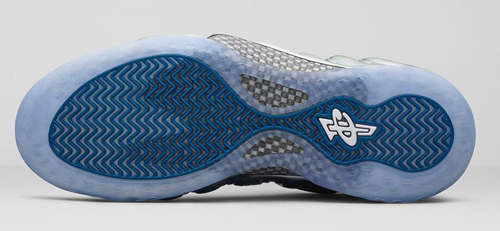 Nike Air Foamposite One Blue Mirror