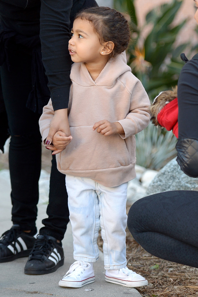 North West Converse Sneakers