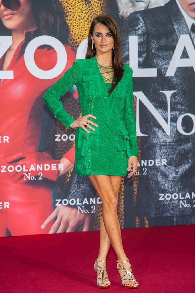 Penelope Cruz Celebrity Statement Shoes Winter 2016