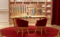 L'Atelier section in the Repetto store