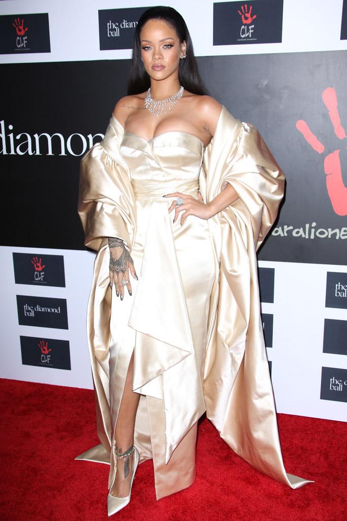 Rihanna Diamond Ball Dior