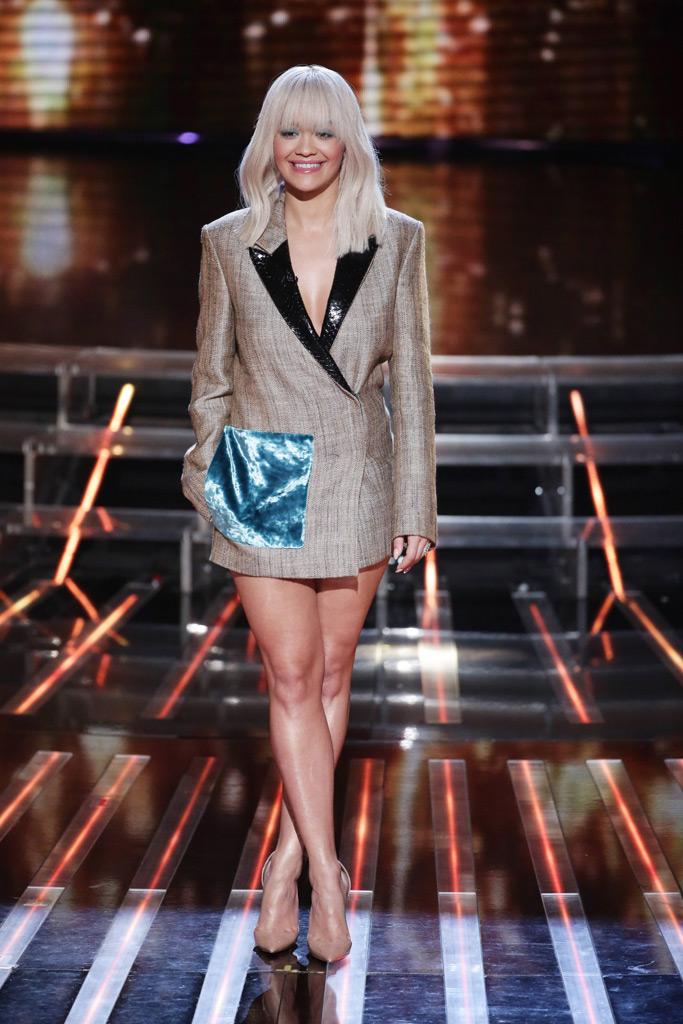 Rita Ora X Factor Shoes Style