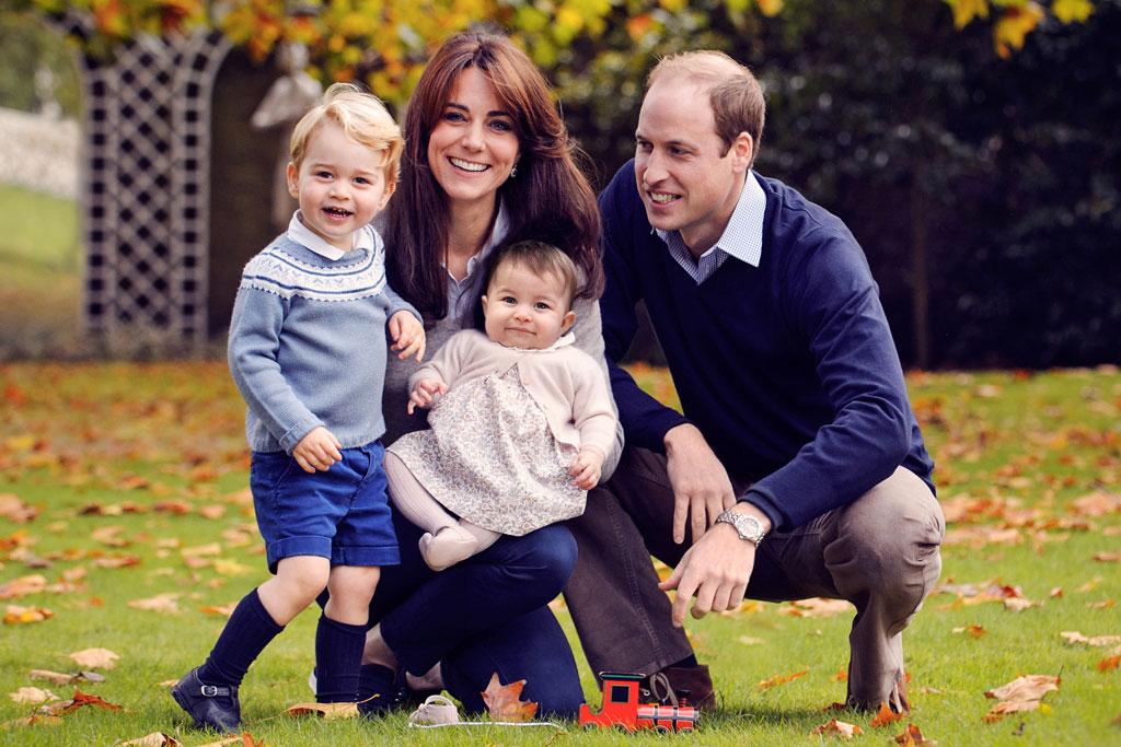 Royal Family Portrait Prince George