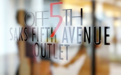 Saks Off 5th storefront