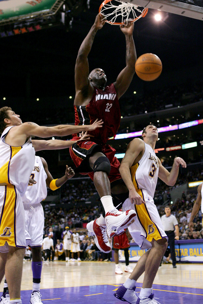 Shaquille Oneal Dunkman Miami Heat Christmas