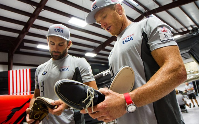 Sperry Inks America's Cup Deal