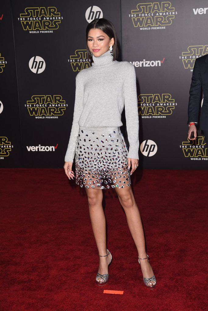 'Star Wars: The Force Awakens' Red Carpet Premiere