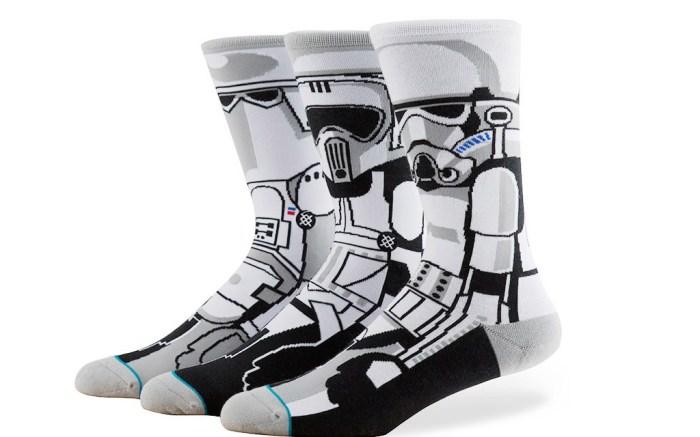 "Stormtrooper Stance ""Star Wars"" socks"