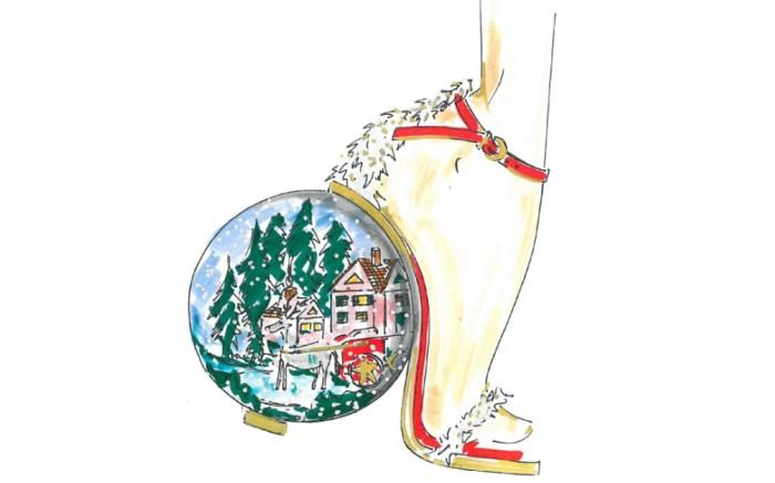 Stuart Weitzman Christmas Shoes
