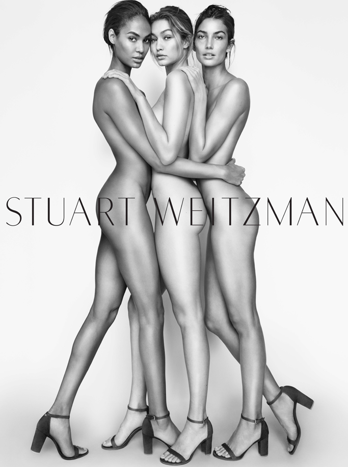 Stuart Weitzman Gigi Hadid, Joan Smalls, Lily Aldridge