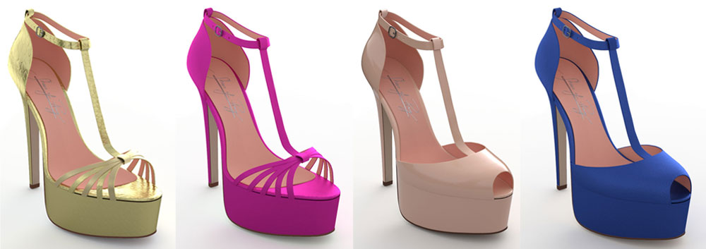 """""""Telenovela"""" Shoes Eva Longoria"""