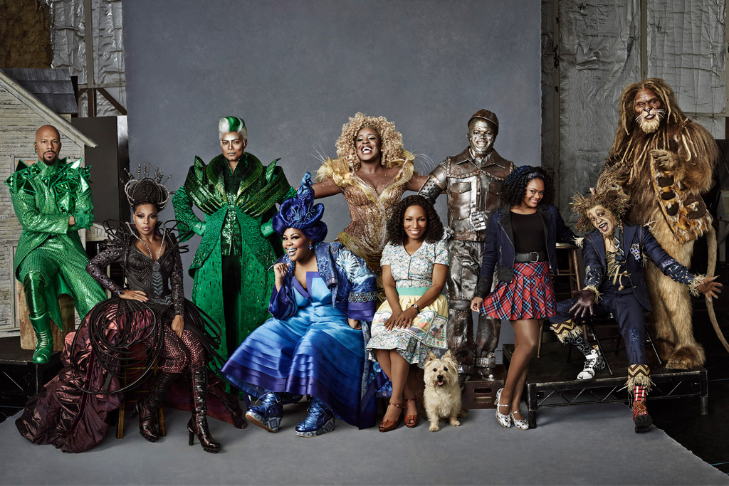 The cast of 'The Wiz'