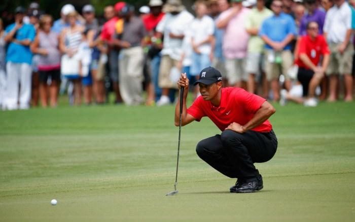 Tiger Woods Nike Wyndham Championship