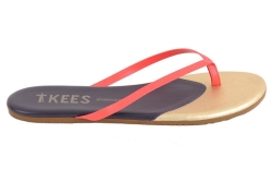Tkees' Contours leather flip-flop, $55.
