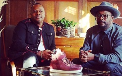 Will.i.am and brother Carl Gilliam Liberty