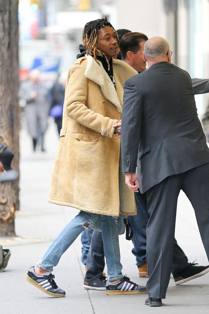 Wiz Khalifa Celebrity Sneakers Style