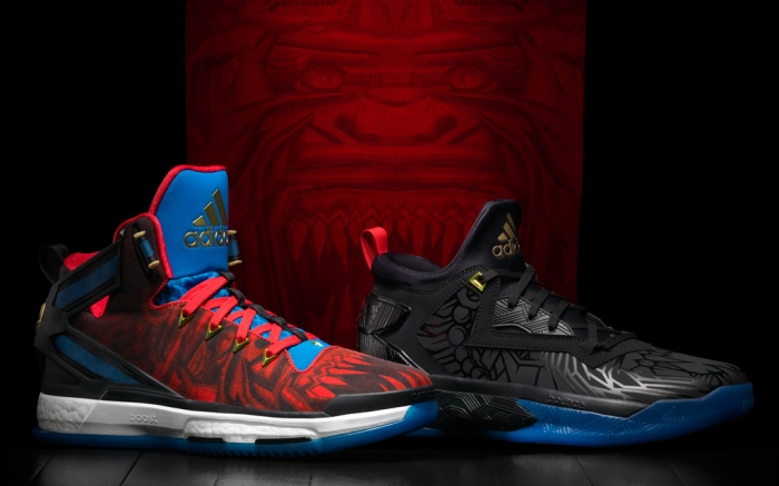 Adidas D Rose 6 & D Lillard 2 Chinese New Year