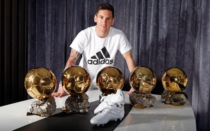 Adidas Platinum Messi 15