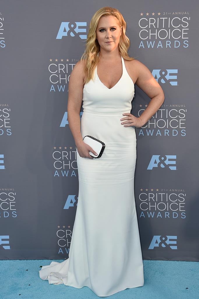 Amy Schumer Critics' Choice Awards 2016 Red Carpet