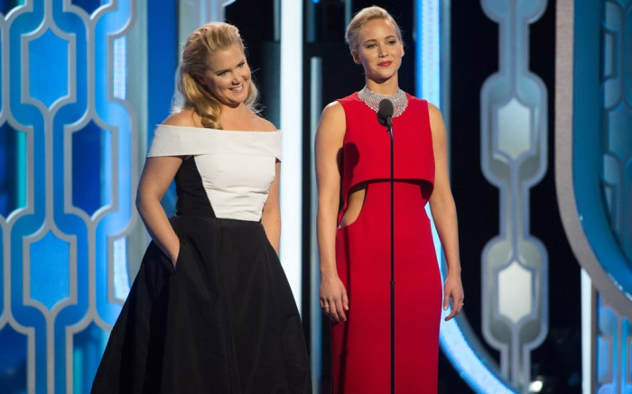 Amy Schumer & Jennifer Lawrence