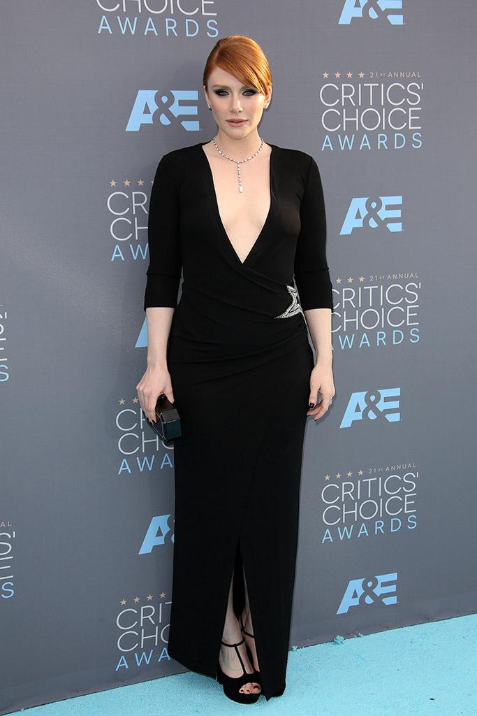 Bryce Dallas Howard Critics' Choice Awards 2016 Red Carpet