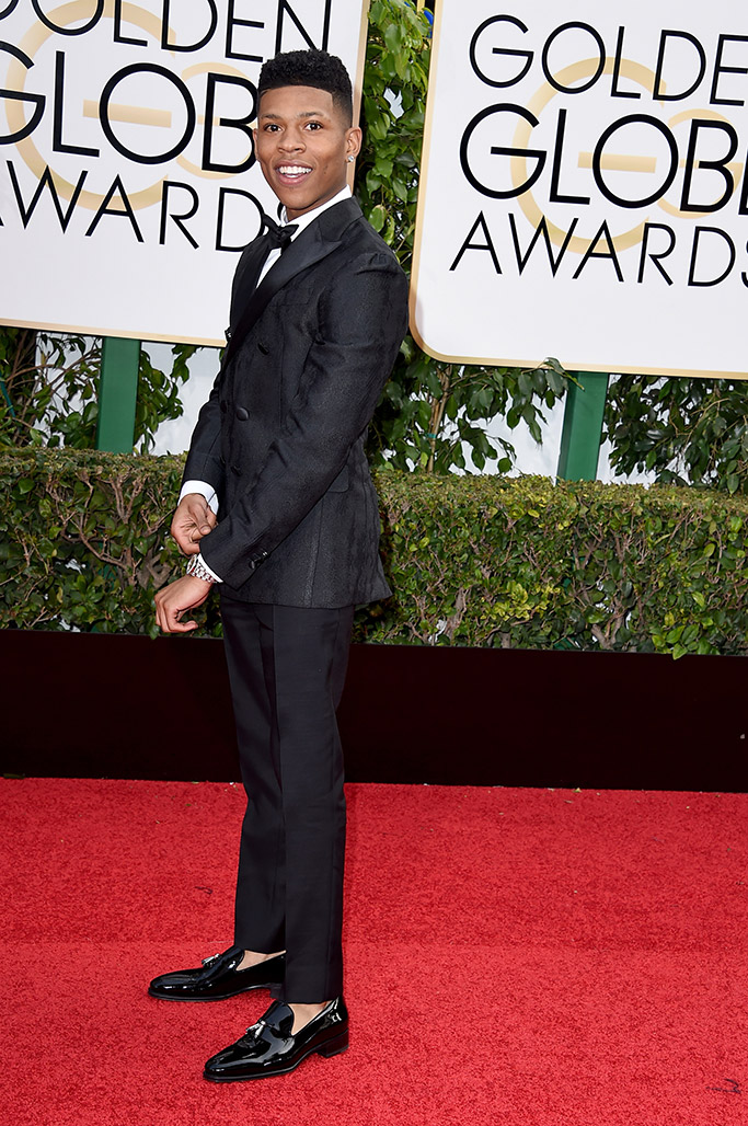Bryshere Y. Gray Golden Globes Red Carpet 2016